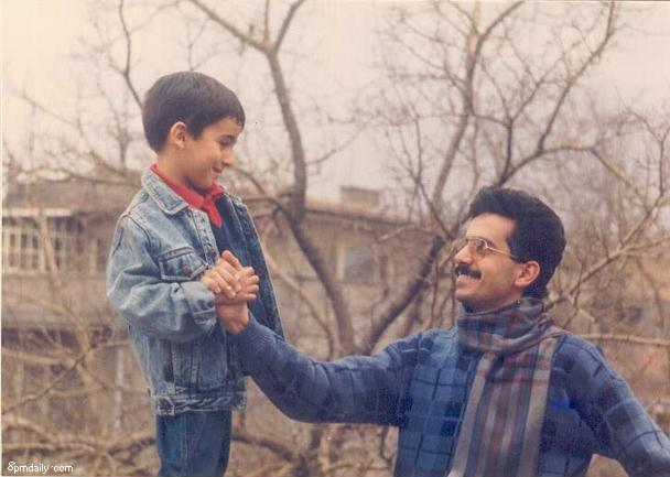Me and my dear uncle in 80
