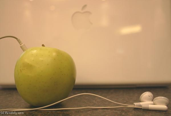 My MacBook and my iPod