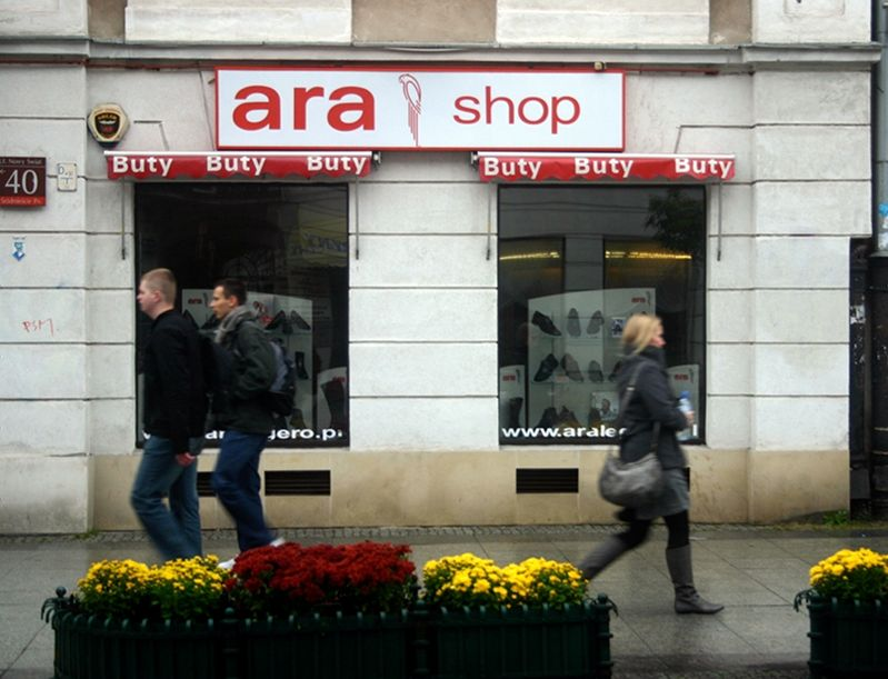 Ara shoe shop Warsaw